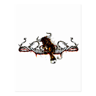 Taurian Bull Postcard