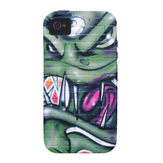 Taurian evil plant spray paint art graffiti iphone 4 4s for Spray paint iphone case