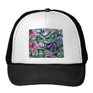 Taurian - Evil Plant Spray paint Art Graffiti Trucker Hat