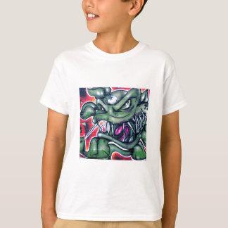 Taurian - Evil Plant Spray paint Art Graffiti T-Shirt