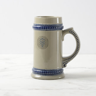 Taurian -  Tree Of Life - Flower Of Life Beer Stein