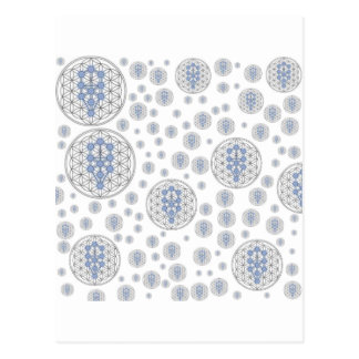 Taurian - Tree of life - Flower of Life Postcard
