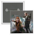TAURIEL™ and LEGOLAS GREENLEAF™ Graphic Pinback Buttons