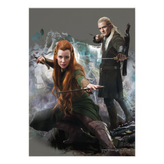 TAURIEL™ and LEGOLAS GREENLEAF™ Graphic Personalized Invites