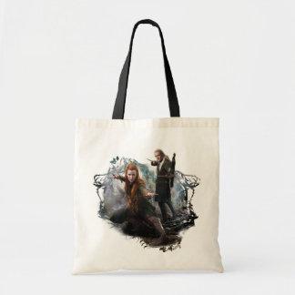 TAURIEL™ and LEGOLAS GREENLEAF™ Graphic Tote Bag