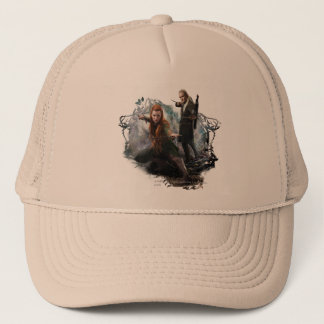 TAURIEL™ and LEGOLAS GREENLEAF™ Graphic Trucker Hat
