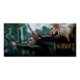 TAURIEL™ and LEGOLAS GREENLEAF™ Movie Poster