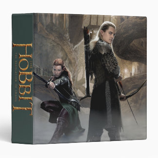 TAURIEL™ And LEGOLAS GREENLEAF™ Movie Poster 2 3 Ring Binder
