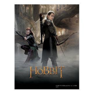 TAURIEL™ And LEGOLAS GREENLEAF™ Movie Poster 2 Postcard