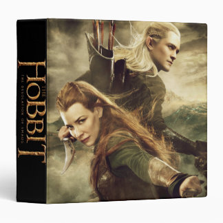 TAURIEL™ And LEGOLAS GREENLEAF™ Movie Poster 3 3 Ring Binder
