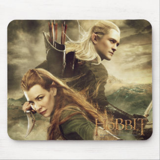 TAURIEL™ And LEGOLAS GREENLEAF™ Movie Poster 3 Mouse Pads