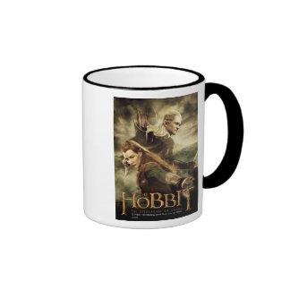 TAURIEL™ And LEGOLAS GREENLEAF™ Movie Poster 3 Ringer Mug