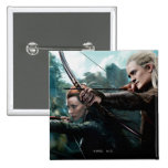 TAURIEL™ and LEGOLAS GREENLEAF™ Movie Poster Pinback Buttons