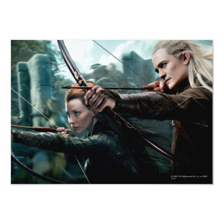 TAURIEL™ and LEGOLAS GREENLEAF™ Movie Poster Card