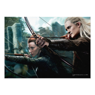 TAURIEL™ and LEGOLAS GREENLEAF™ Movie Poster Cards
