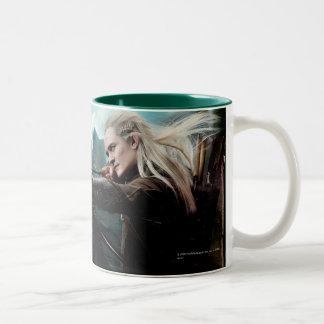 TAURIEL™ and LEGOLAS GREENLEAF™ Movie Poster Two-Tone Coffee Mug
