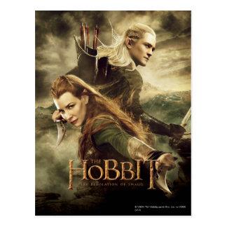 TAURIEL™ And Legolas Movie Poster 3 Postcard