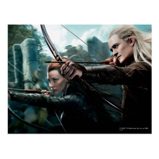 TAURIEL™ and Legolas Movie Poster Post Card