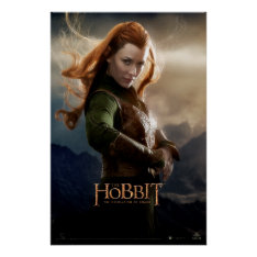 Tauriel™ Character Poster 2 at Zazzle