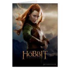 Tauriel™ Character Poster 2 Card at Zazzle