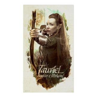 TAURIEL™ Daughter of Mirkwood Poster