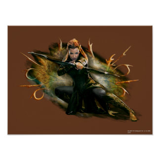 TAURIEL™ Drawing Bow Print