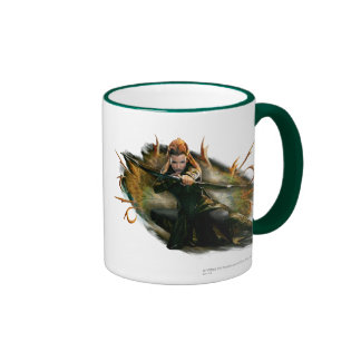 TAURIEL™ Drawing Bow Ringer Coffee Mug