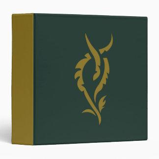 TAURIEL™ Floral Symbol 3 Ring Binder
