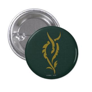 TAURIEL™ Floral Symbol Pinback Button