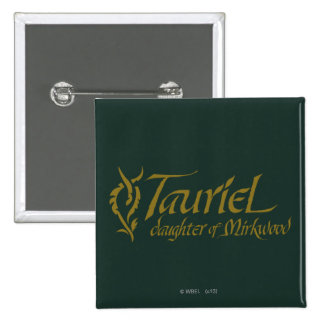 TAURIEL™ Name Pinback Button