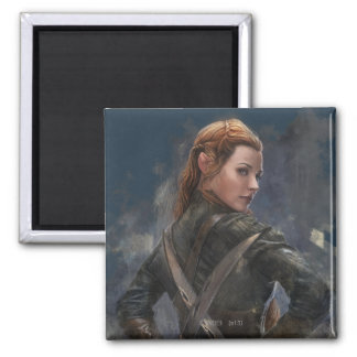 TAURIEL™ Sketch 2 Inch Square Magnet