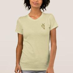 Tauriel™ Swords Symbol T-shirt at Zazzle