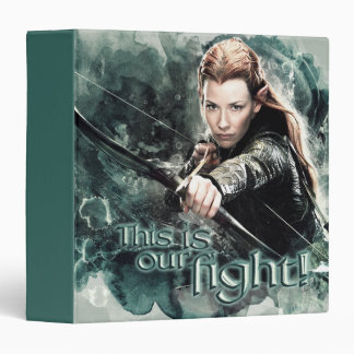 TAURIEL™ - This Is Our Fight 3 Ring Binder