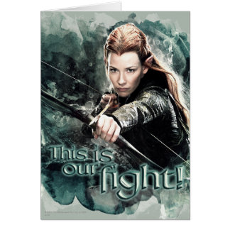 TAURIEL™ - This Is Our Fight Card