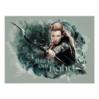 TAURIEL™ - This Is Our Fight Poster