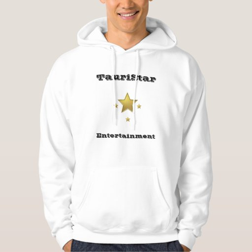 TauriStar Hoodie-White Pullover