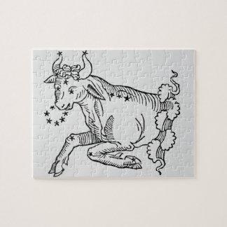 Tauro (Bull) un ejemplo del 'poético Puzzle Con Fotos