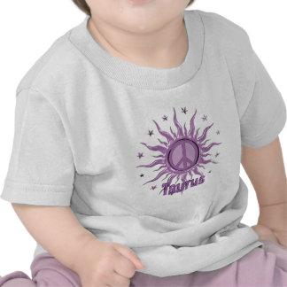 Tauro de Sun de la paz Camiseta