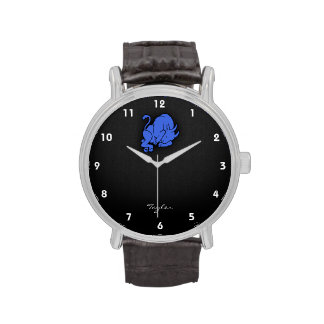 Tauro del azul real reloj