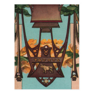 Tauro la Bull - zodiaco Tarjetas Postales