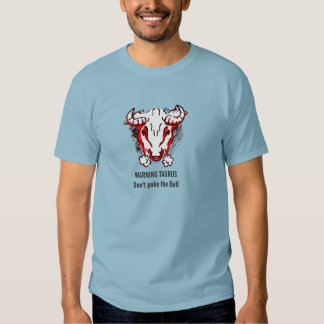 Tauro la camiseta amonestadora de la astrología playera