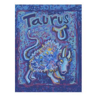Tauro, productos del zodiaco postales