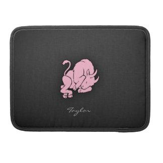 Tauro rosa claro funda para macbook pro