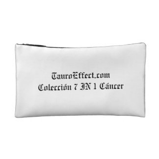 TauroEffect.com Collection 7 IN 1 Cancer Cosmetic Bag