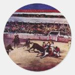 Tauromaquia de Manet Eduardo Pegatinas