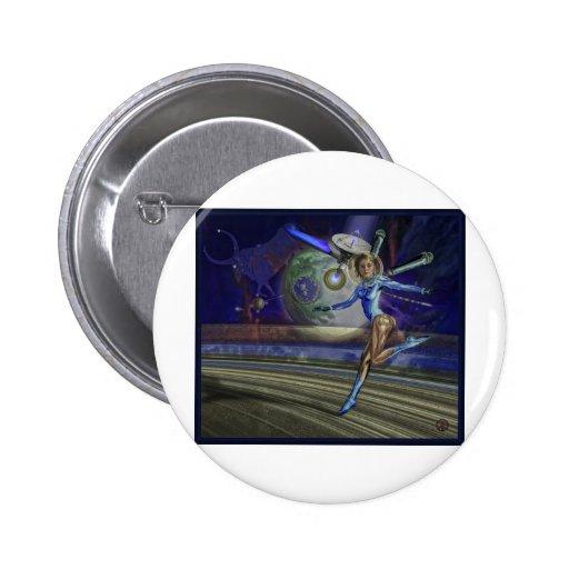 Taurus 2 Inch Round Button