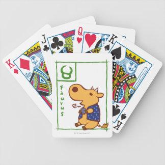 Taurus 3 bicycle playing cards