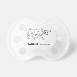 Taurus (April 20th - May 20th) Baby Pacifier