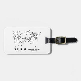 Taurus (April 20th - May 20th) Bag Tags