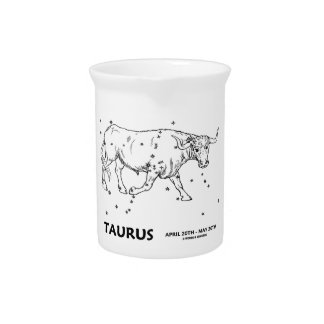 Taurus (April 20th - May 20th) Beverage Pitcher